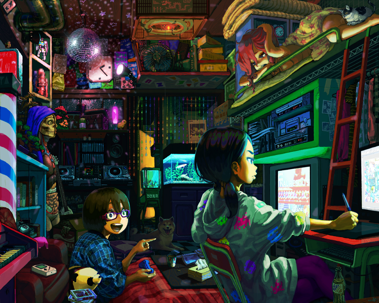 N hey have you guys checked out wizardchan they seem - Space wallpaper room ...